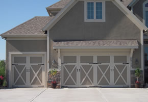 customized garage doors