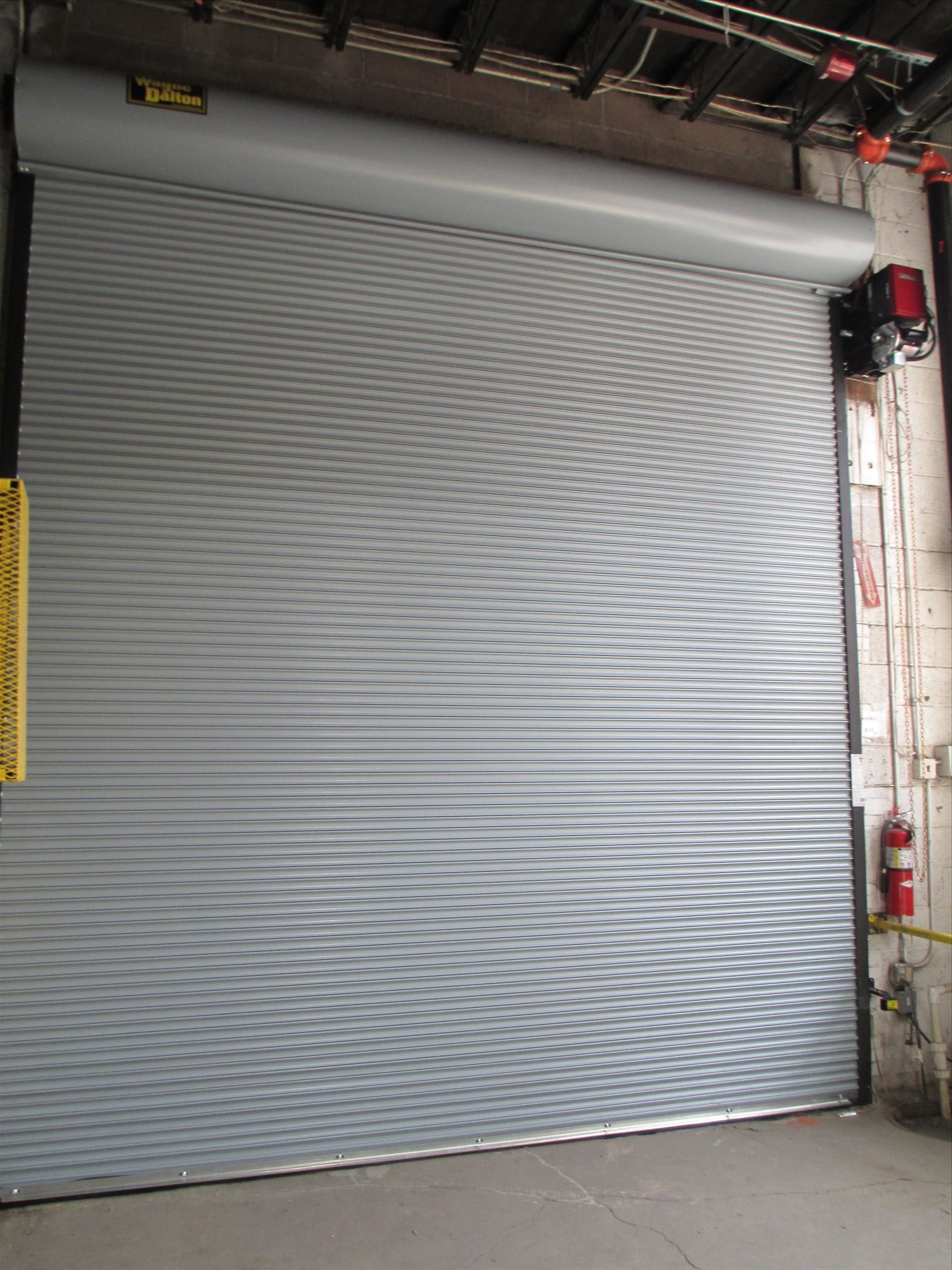 commercial garage door and lift