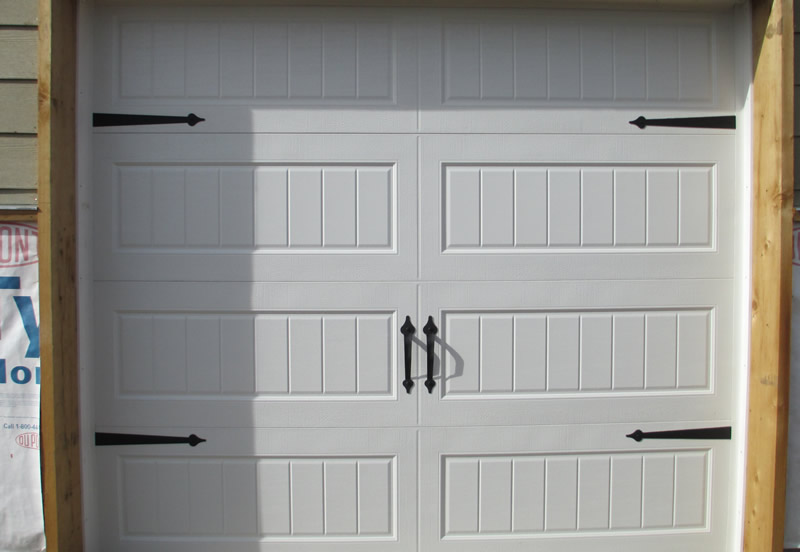custom garage door handles and accents