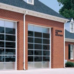 Bay Doors Fire Station